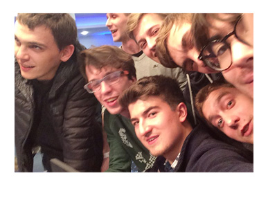 Dzmitry Urbanovich selfie after winning EPT12 Dublin main event.  Source: Twitter