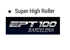European Poker Tour - EPT 100 Barcelona - Super High Roller - Graphic