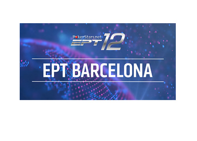 Europea Poker Tour - EPT 12 - Barcelona - Logo on blue background