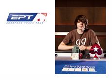 European Poker Tour (EPT) - Benny Spindler - Winner of the London event