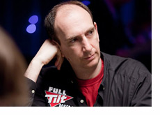 Erik Seidel at the World Series of Poker 2010 - Black shirt