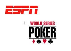 -- espn logo and world series of poker logo - wosp --