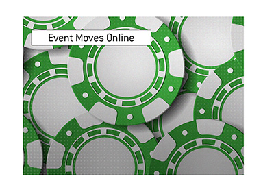 Another poker event forced to move to online format. Irish Green - Illustration