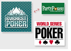 new world series of poker sponsor - everest poker - takes the spot of partypoker