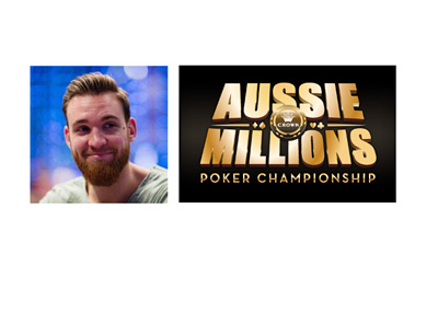 Fabian Quoss - The winner of the 100k Aussie Millions Challenge