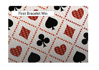 First World Series of Poker bracelet win by an old-school pro.