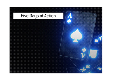 Five days of action are coming up in a heads up poker championship.