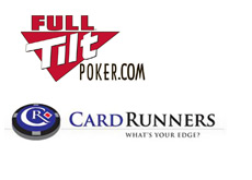 card runners and full tilt poker sign a deal - company logos