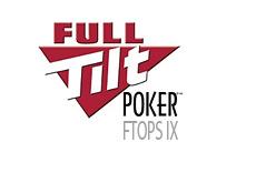 full tilt poker - ftops ix - logo - online tournament