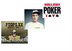 Full Tilt Online Poker Series - FTOPS XX - Ingenious89 and World Series of Poker logo