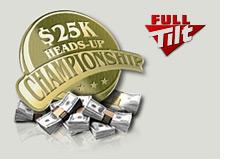 full tilt poker - 25k heads-up online tournament