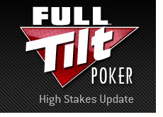 new full tilt poker logo - high stakes update