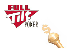 -- Poker King's dollar cane and Full Tilt logo --
