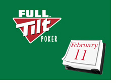 full tilt logo on a green background - poker