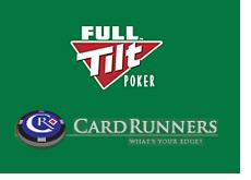 full tilt poker room - logo - green background