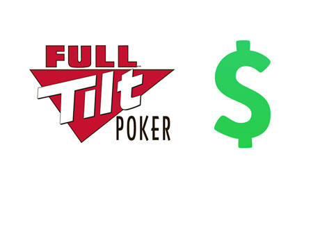 Full Tilt Poker logo next to USD sign