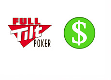 Full Tilt Poker - Payment - Dollar Button Illustration