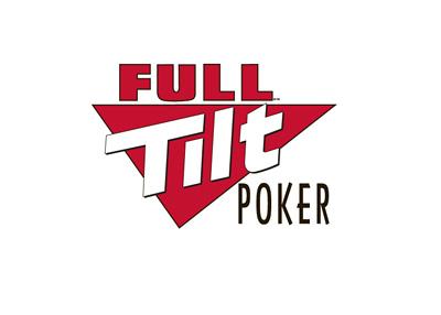 Full Tilt Poker logo - White background - 400 pixels width