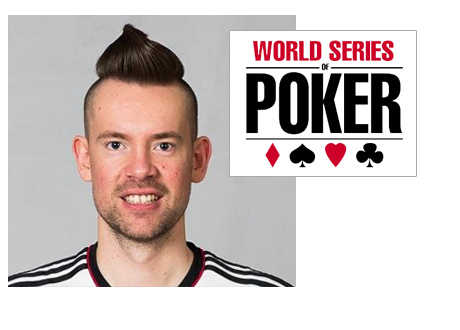 George Danzer - Poker Player - Mohawk - WSOP Logo