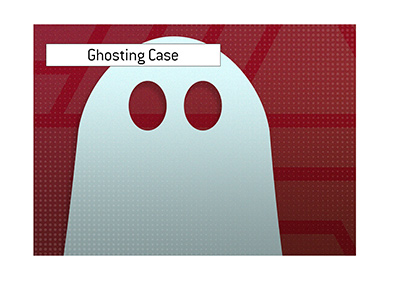 A high profile ghosting case is making the headlines these days.