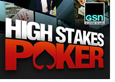 gsn logo - high stakes poker promo ad - network for games