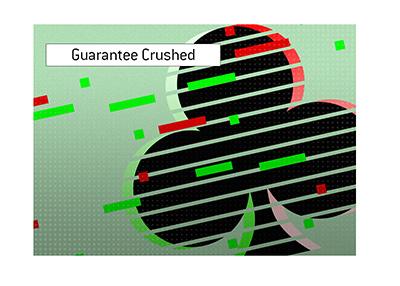 The anniversary tournament crushes the guarantee.