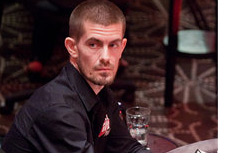 Gus Hansen - Sitting at the table - World Series of Poker