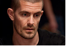 -- Gus Hansen with a dazed look --