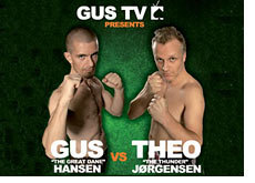 fight poster - gus hansen vs. theo jorgensen