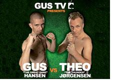 fight poster - gus hansen vs. theo jorgensen