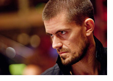 Gus Hansen at the WSOPE 2010 - Very Serious