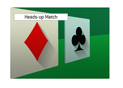 The popular heads-up match is going against the expectations at the moment.  It will be interesting to see how it all plays out.
