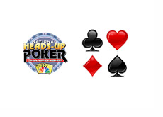 Heads-up logo - Spade, Club, Diamond and Heart draws