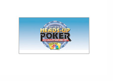 Heads-up Poker Championship - Logo with blue background