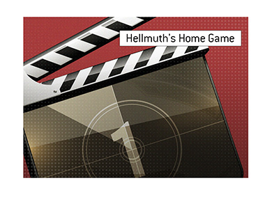 The filming of Hellmuths Home Game, new poker show, is discussed and illustrated in this article.