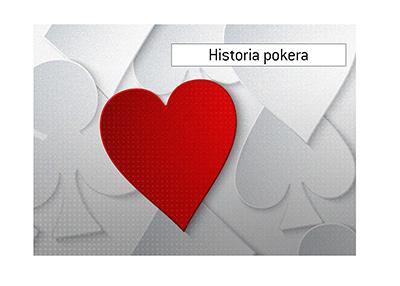 Poker King omawia krótką historię gry, odkąd po raz pierwszy pojawiła się w Internecie.