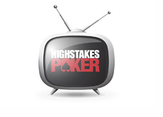 High Stakes Poker on TV - Illustration