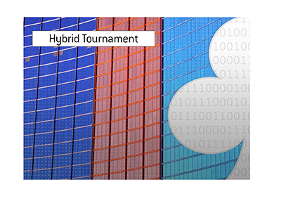 This years World Series will be a hybrid tournament.  Live and Online.