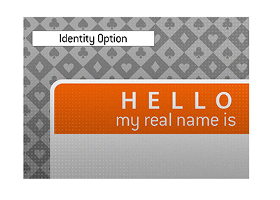 Hello, my real name is... - Illustration.