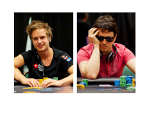 Viktor Isildur1 Blom and Isaac philivey2694 Haxton - Photo - Pokerstarsblog.com