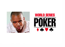 Phil Ivey and the World Series of Poker (WSOP) Logo