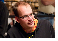 James Dempsey at the WSOP 2010