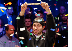 Jonathan Duhamel Wins the World Series of Poker 2010 Main Event