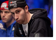 Jonathan Duhamel at the final table of the World Series of Poker 2010