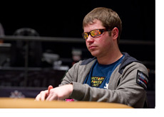 Jonathan Little aka FieryJustice at the table - WSOP 2010 - July 2nd