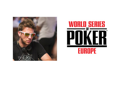 Kevin Macphee - World Series of Poker Europe - WSOPE - Logo
