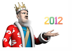 The King is reporting on the poker year that follows - 2012