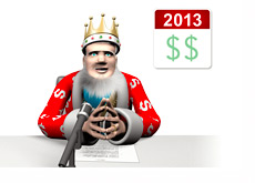 The King 2013 Cash Report