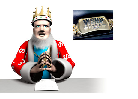 The King is reporting on the latest 2014 World Series of Poker (WSOP) bracelet winners