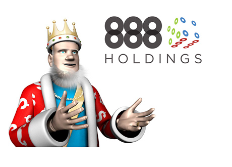 The King is talking about the 888 Holdings stock price - February 2015